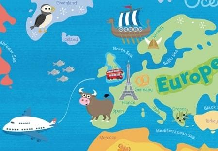 Европа дети