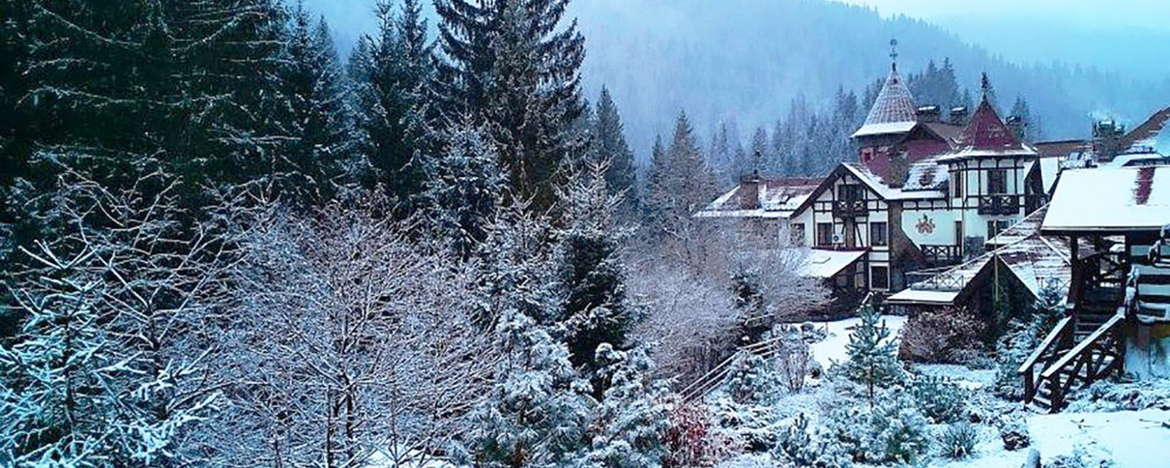 Карпаты зимой