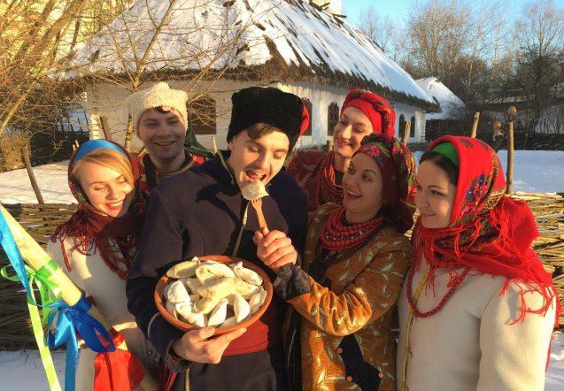 Масляна на хуторе Галушковка